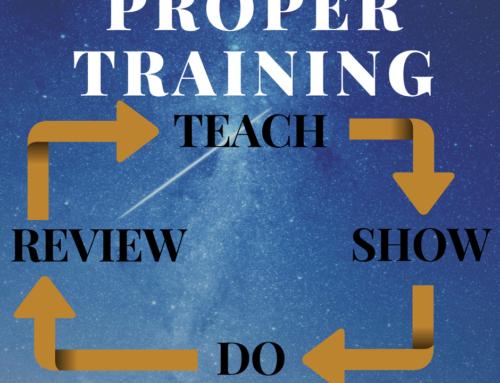 Proper Training Pattern
